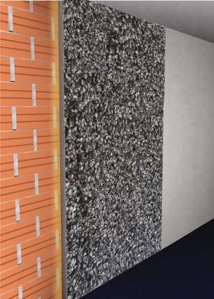 panel multiaislante con cola