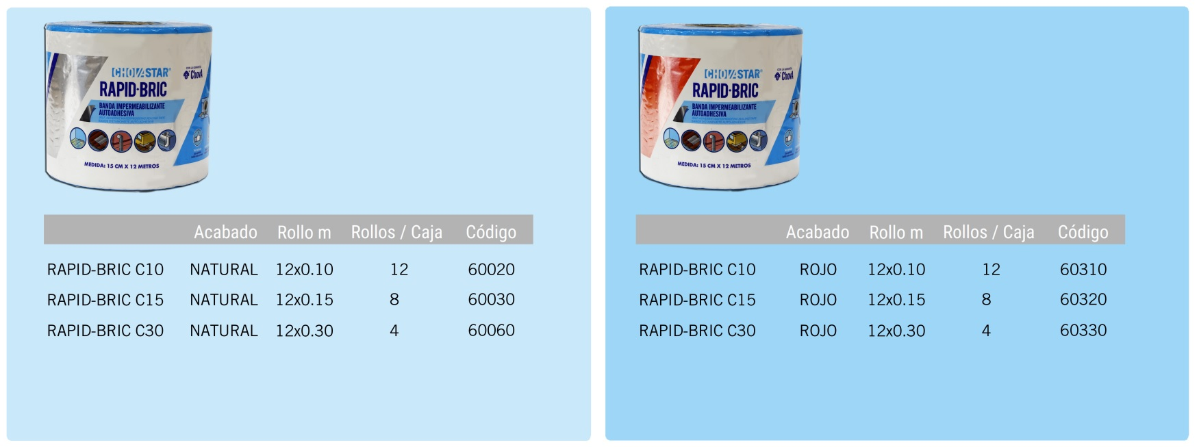 productos rapidbric